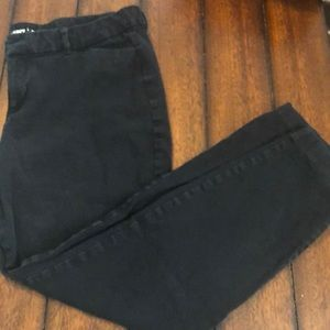 Old Navy Pixie Ankle Black Pants Size 14